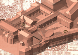 MUSEO E PIAZZA A SANTA CORONA VICENZA